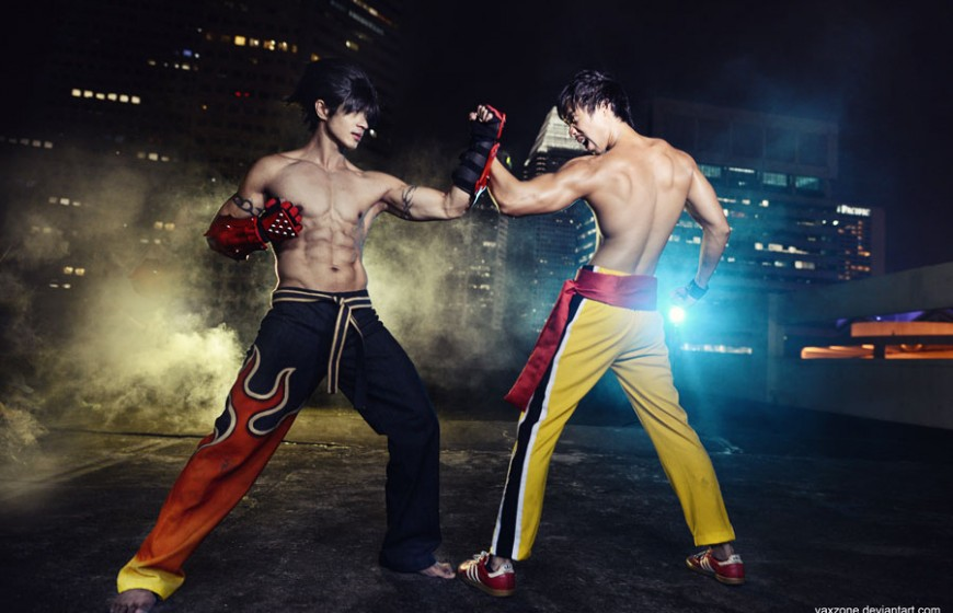 tekken___jin_vs_law_by_vaxzone-d6xvnti
